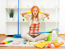 easy home cleaning