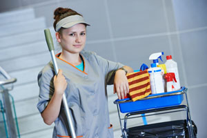 home cleaning lady