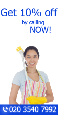 Get 10% Off on Any Cleaning Service in Islington