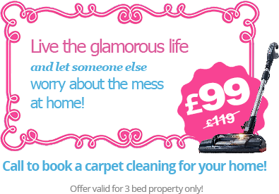 Great Prices on Carpet Cleaning in London