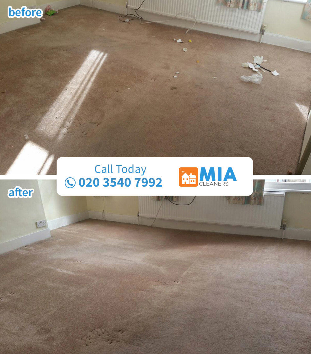 Acton cleaning carpet W3